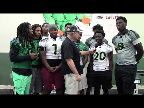Pregame Atlantic Eagles Impact Players Semi Final Playoff Interview