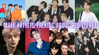 Download lagu male artists talking about Red Velvet