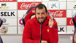 Diego Martínez | Previa C. A. Osasuna vs Lorca F. C. | 25.05.18