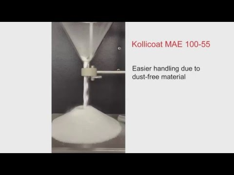 Kollicoat® MAE 100-55 – Dust free enteric release coating powder