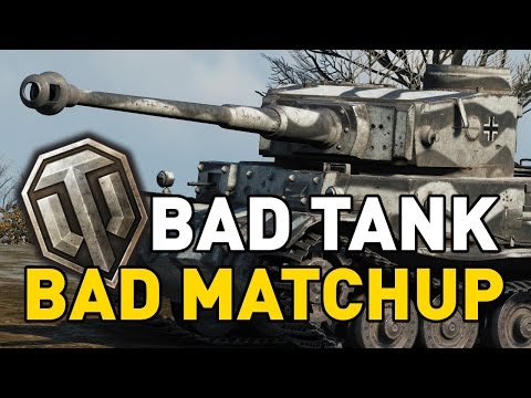 World of Tanks || Bad Tank, Bad Matchup