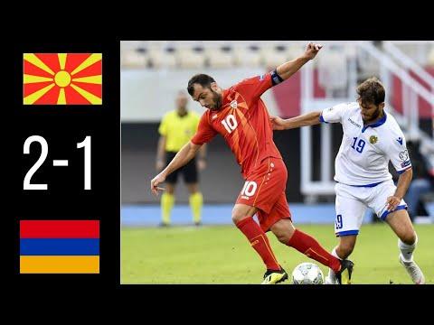 North Macedonia - Armenia 2-1 Extended Highlights U0026 All Goals / Северная Македония - Армения 2-1