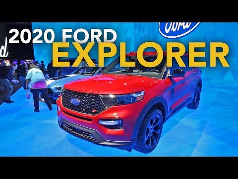 2020 Ford Explorer First Look – 2019 Detroit Auto Show