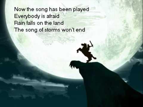 Zelda Lyrics: Song of Storms
