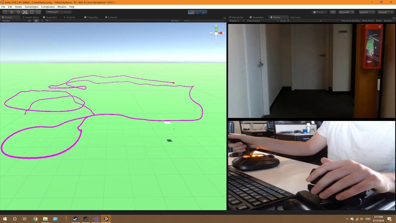 Unity Controller for Tello (Autopilot 2 0) | DJI Tello Drone
