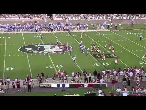 Florida State QB EJ Manuel vs Duke ᴴᴰ