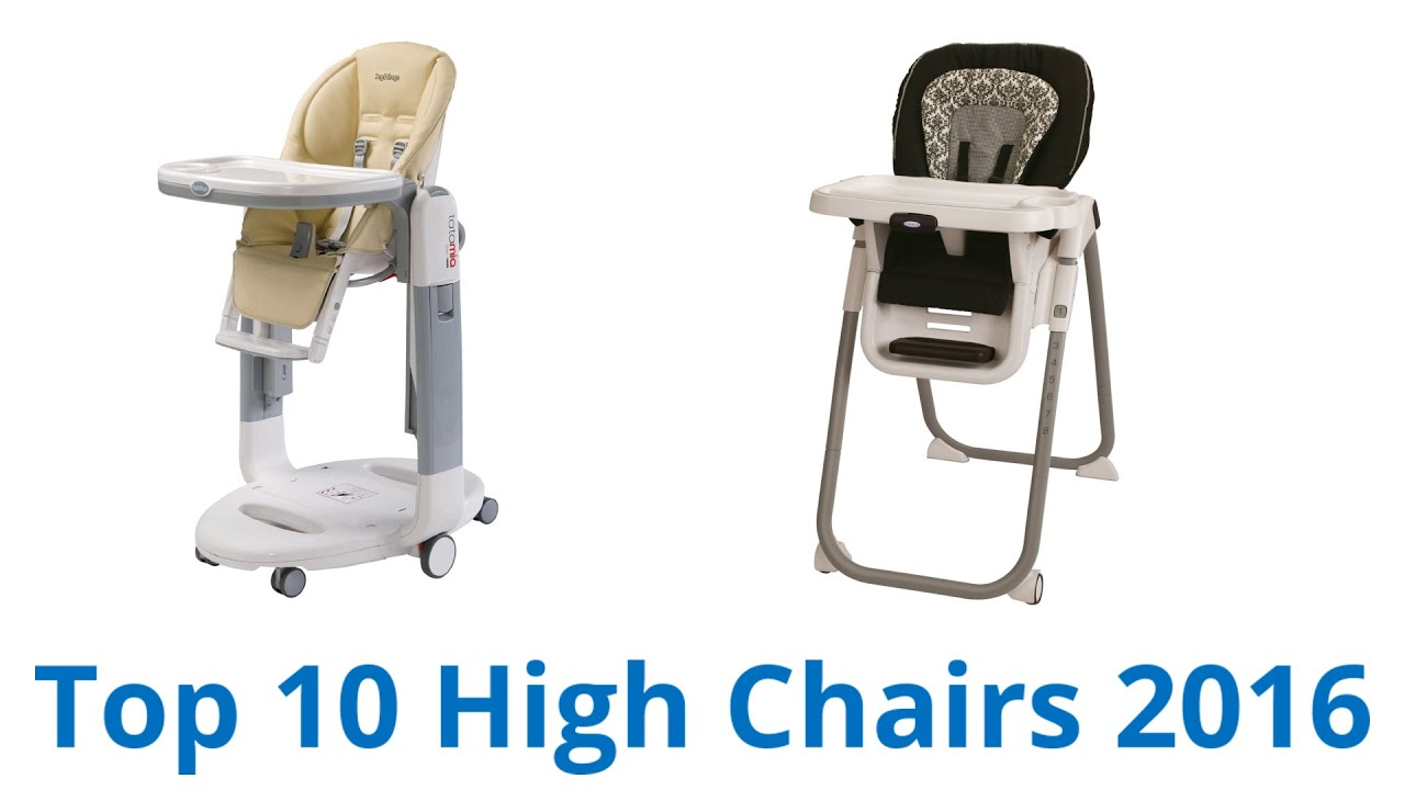 10 Best High Chairs 2016