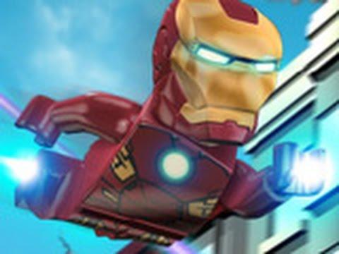 Игра Лего Железный человек онлайн Lego The Iron Man
