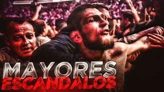 Top 5 Mayores Escandalos en UFC
