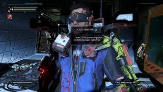 The Surge - Abandoned Production: Upgrade ASTir Vibro-Cutter & Reclaimed Piston, Implants Inventory