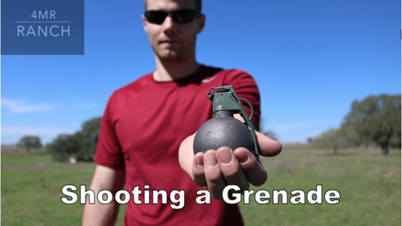 What Happens if You Shoot a GRENADE?