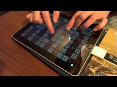 Midnight  Joe Satriani performed on GeoSynth iPad app New Mugician