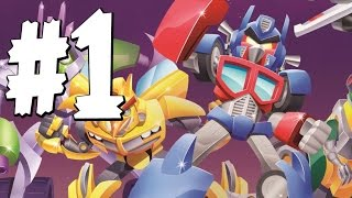 Angry Birds Transformers - Gameplay Walkthrough Part 1 -  Rescuing Bumblebee