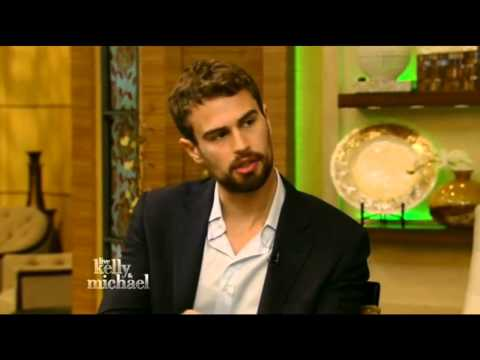 'Insurgent' star Theo James on Live! with Kelly and Michael (Mar 17th, 2015)