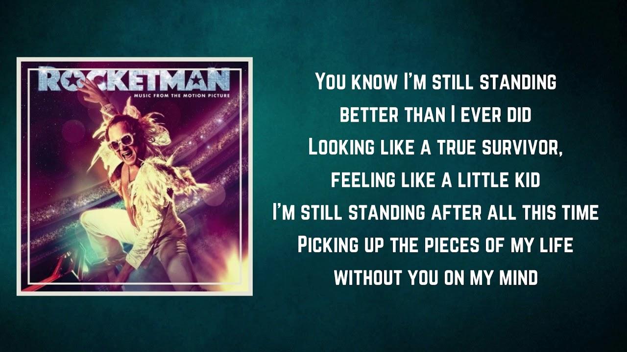 Download Taron Egerton - I'm Still Standing Rocketman (Lyrics)