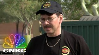 Undercover Boss: The President Of Fatburger Goes Undercover | CNBC Prime