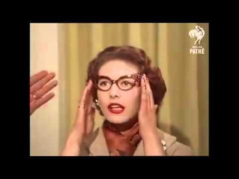 b28d3a94304 1950 s Glasses For Women! - YouTube