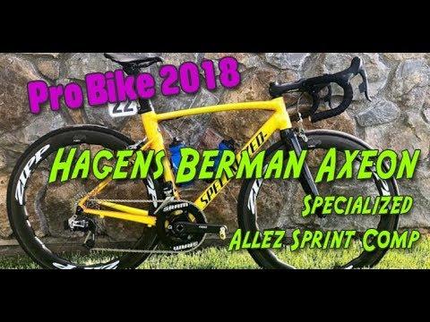 2018 Hagens Berman Axeon's Specialized Allez Sprint Comp