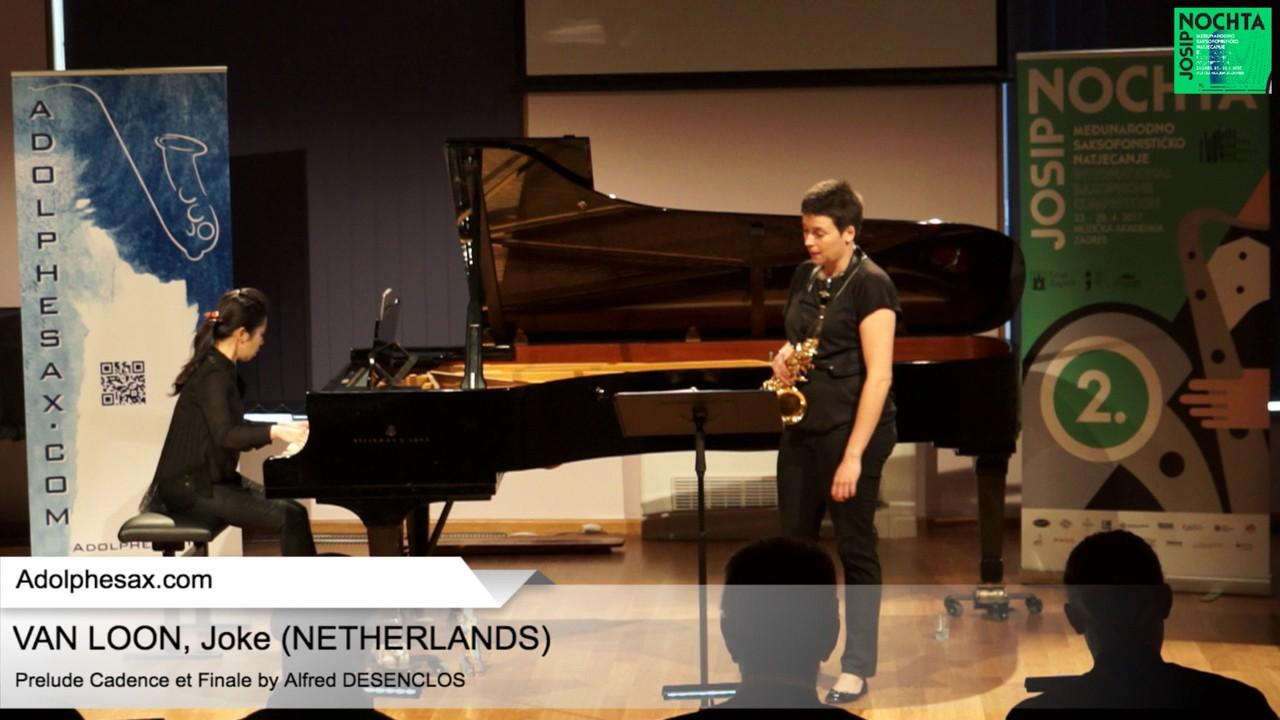 Prelude, Cadence et Finale by Alfred Desenclos – VAN LOON, Joke (Netherlands)