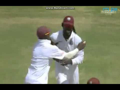 West Indies vs New Zealand 3rd Test 1st Day ( BJ Watling gone for 1 )