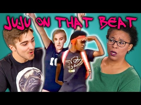 Thumbnail: ADULTS REACT TO JUJU ON THAT BEAT DANCE COMPILATION (#TZAnthemChallenge)