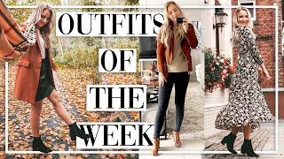 7 Tage - 7 Herbst Outfits - DAS trage ich WIRKLICH im Alltag - TheBeauty2go