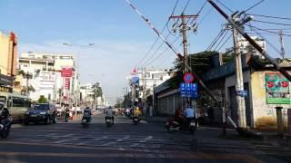 Đường ray xe lửa Hoàng Văn Thụ- Phú Nhuận, Saigon Vietnam