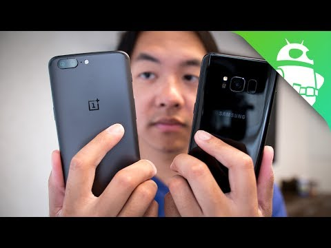 Thumbnail: OnePlus 5 vs Samsung Galaxy S8 - Quick Look