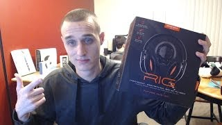 Plantronics RIG gaming headset unboxing, mic test and review!