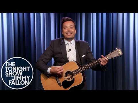 Jimmy Fallon Sings Advice to Democratic Candidates: 'Don't Become a Meme'
