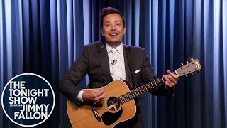 "Jimmy Fallon Sings Advice to Democratic Candidates: ""Don't Become a Meme"""