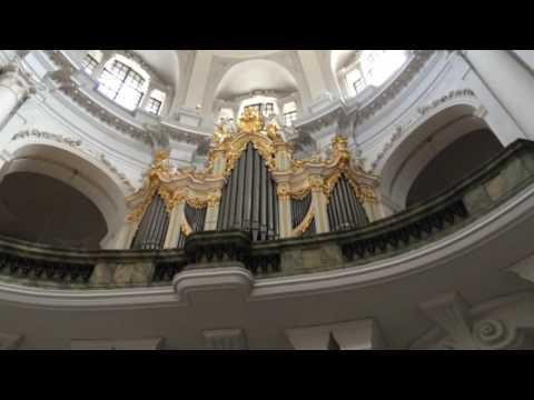 Orga bisericii din Dresda/Dresden church organ