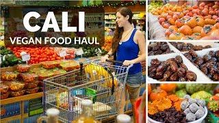 Hollywood Food Haul || Raw Vegan