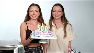 Baking A Cake Funny Moments! - Merrell Twins Live