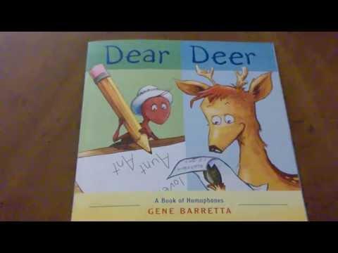 Dear Deer Homophones by Gene Barrettta