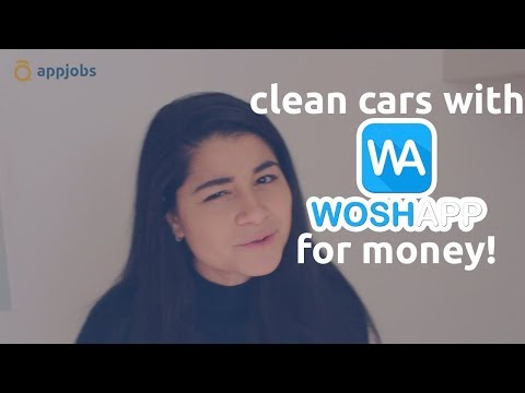 Clean cars in Stockholm for money with Woshapp | AppJobs