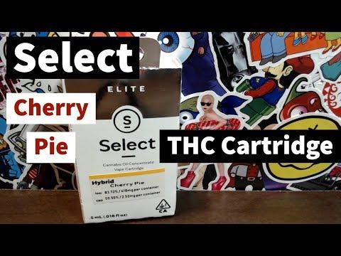 Select Elite - Cherry Pie THC cartridge