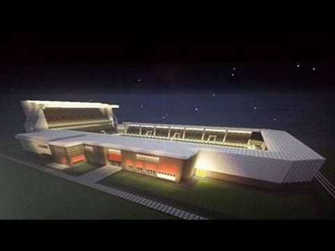 Minecraft Tutorial how To Make A Football Stadium