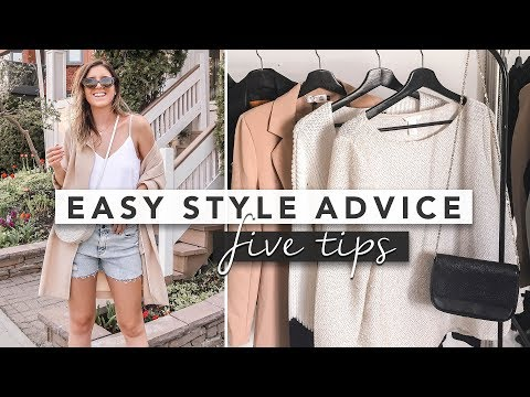 5 Easy Style Tips and Advice for Your Wardrobe | by Erin Elizabeth - Видео онлайн