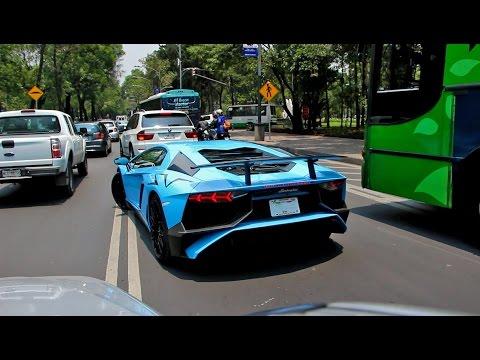 Lamborghini Aventador Lp750 4 Sv Ciudad De M 233 Xico Youtube