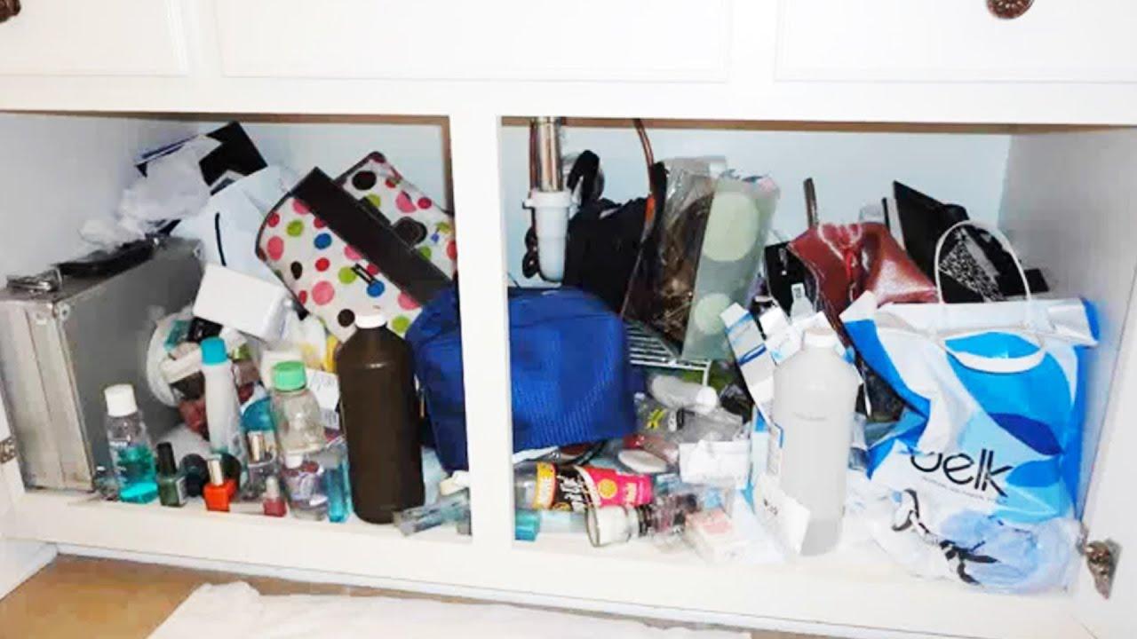 Organizing My Bathroom Cabinet You