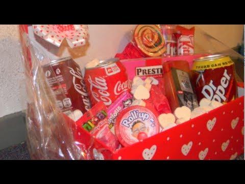 [DIY] Valentine's Day Last Minute Gift Basket/Package