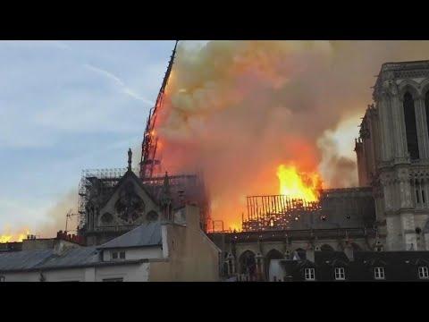 عامان بعد حريق مهول... كاتدرائية نوتردام في باريس تسعى لاستعادة بريقها وحلتها السابقة في 2024  - 12:59-2021 / 4 / 15