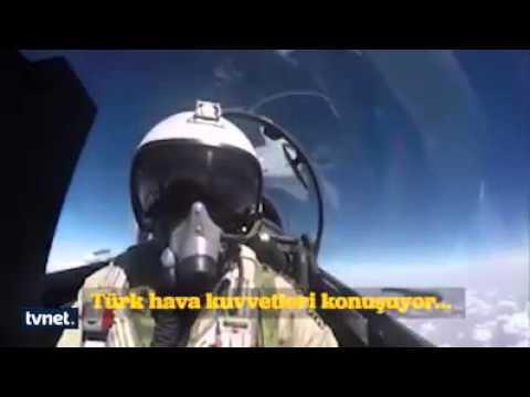 Vurulan Rus Jetinin Defalarca Uyarılma Anı !