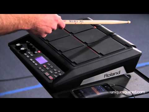 Roland SPD-SX Sampling Pad Overview and Demo | UniqueSquared