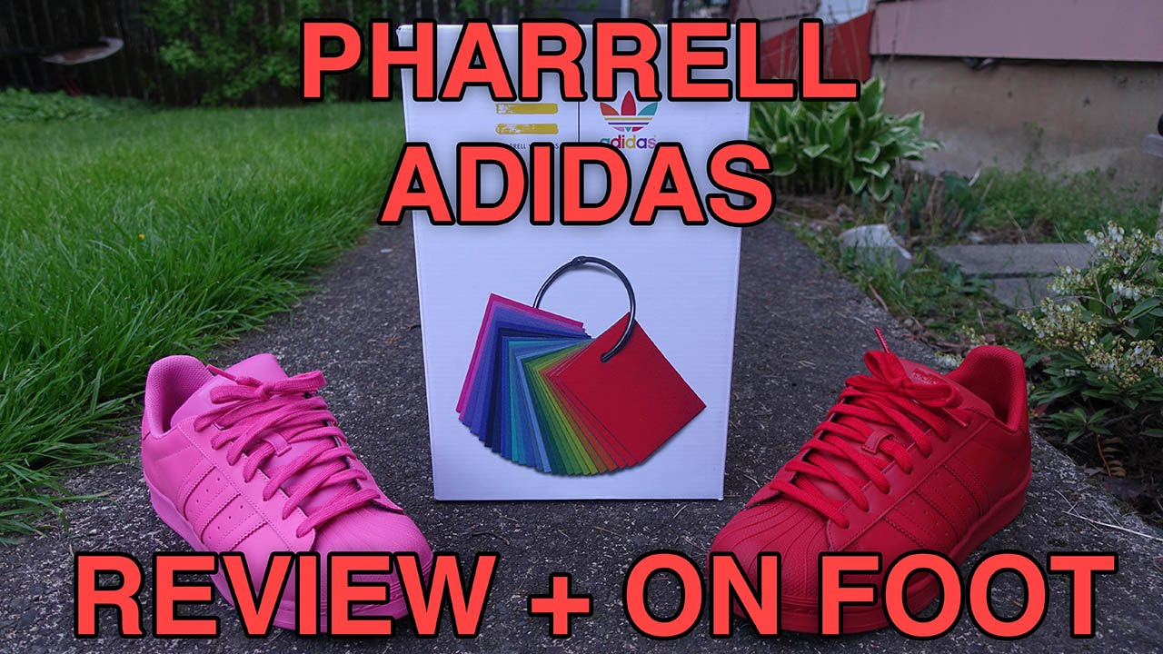 "114ec21848ba6 adidas x Pharrell Williams - ""Supercolor"" Superstar Review + On Foot ..."