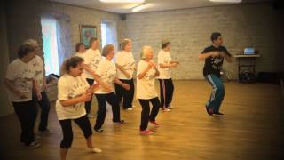 70 year old dancers preparing for jj street baltic session 2013