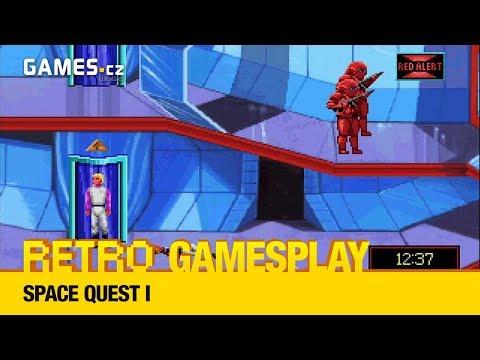 Retro GamesPlay - Space Quest I + Extra Round: Grand Prix Circuit (formule)