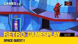 Retro GamesPlay - Space Quest I + Extra Round - Grand Prix Circuit (formule)