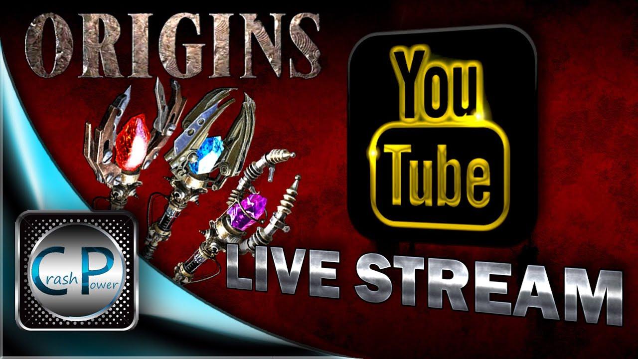 i origins stream